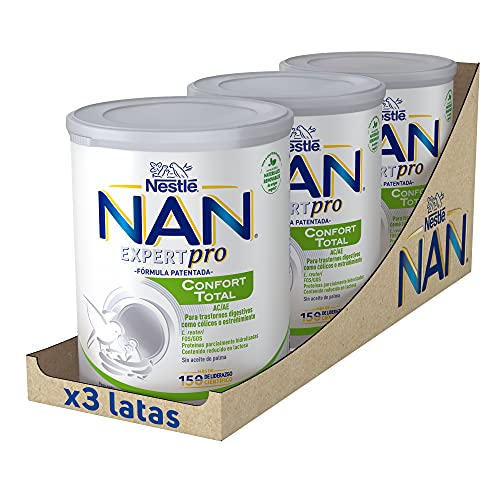 Nan Confort Total Leche Especial Para Bebés Con Trastornos...