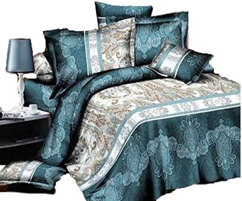 Saadiyal Vintage Duvet Cover Set 3D Qu Bedding Printed Sets In Popular standard a popularity 4Pcs