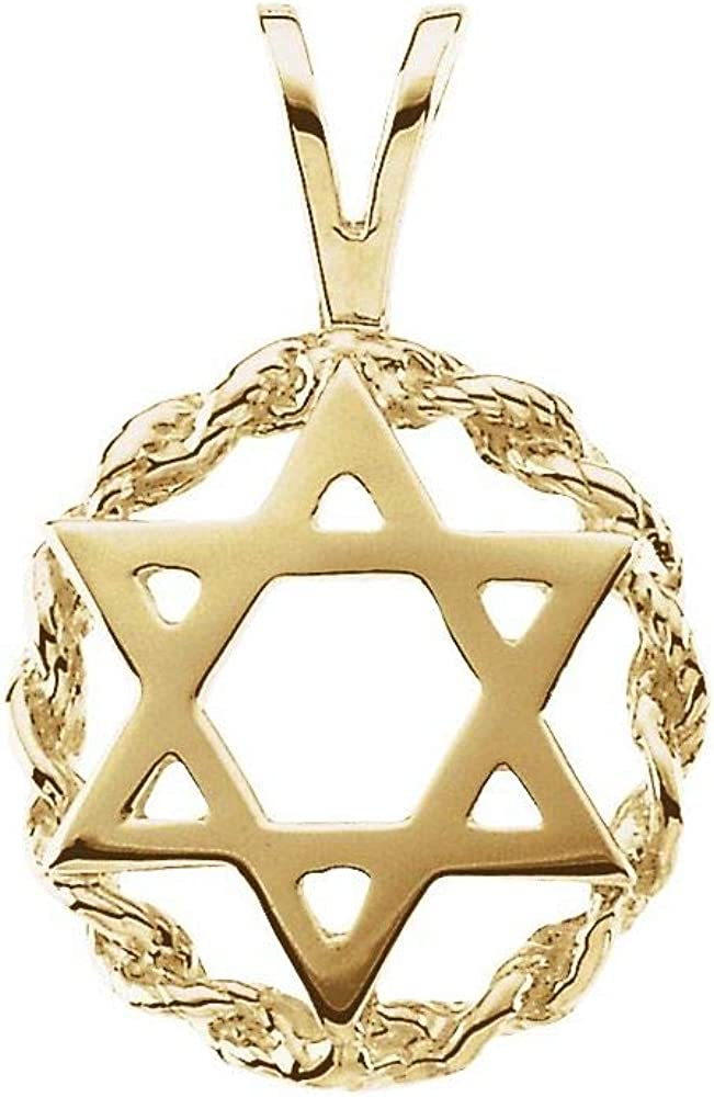 20x13mm Star of David Charm 20mm x Max 79% OFF 13mm Pendant OFFicial mail order