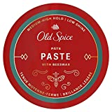 Old Spice Hair Styling Paste for Men, Medium-High Hold/Low Shine, 2.22 Oz NEW Formula