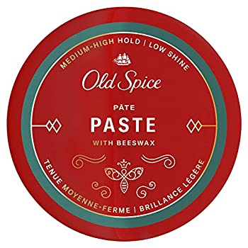 Old Spice Hair Styling Paste for Men Medium-High Hold/Low Shine 2.22 Oz