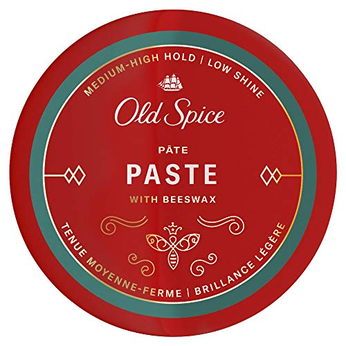 Old Spice Hair Styling Paste for Men, Medium-High Hold/Low Shine, 2.22 Oz