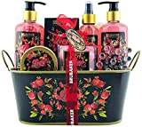 BRUBAKER Cosmetics - Coffret de bain & douche - Fruit de la passion/Love - 12 Pièces - Bassine...