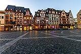 Mainz City Markt Art Design XXL Wandbild Kunstdruck Foto
