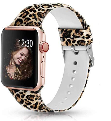 Sunnywoo Apple Watch Leopard Print Band