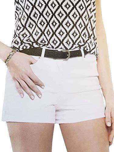 Up2Fashion Jeansshort Hot Pants Kurze Hose Jeans Damen Bermuda Gr. 36-42, Größe: 38