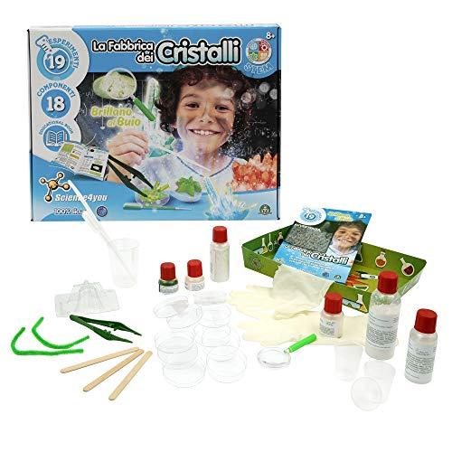 Giochi Preziosi Science4You La Fabbrica dei Cristalli 709, Multicolore, 8056379063773