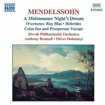 MENDELSSOHN: Midsummer Night's Dream (A) / Overtures