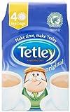 Tetley Tea, 40-Count Tea Bags (Pack of 6)