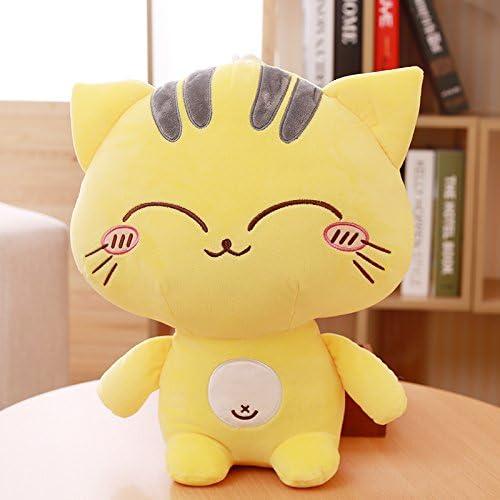 DONGER Größes Gesicht Katze Spielzeug mädchen Katze Puppe mädchen Kissen Puppe Lustige Schlaf Umarmung, Augenzwinkern, 50cm