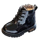 YanHoo Zapatos para niñas pequeñas Botas Niños Moda Niños Niñas...