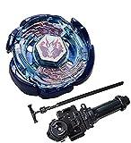 Gyro Boys Bey Toys BB70 Galaxy Pegasus/Pegasis Metal Fusion Battle Tops con Launcher Grip Set