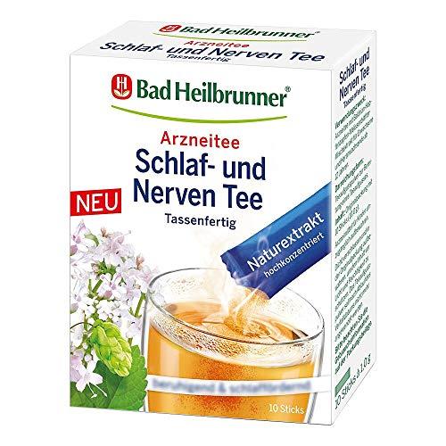 BAD HEILBRUNNER Schlaf- und Nerven tassenfertig 10X1.0 g
