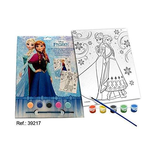 Jeu d'activités 5 couleurs Frozen