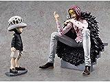 Modelo Desconocido de Juguete de una Pieza Pop Corason Childhood Luo Classic Scene Toy Anime Model Doll