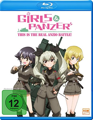 Girls & Panzer - This is the Real Anzio Battle! - OVA [Blu-ray]