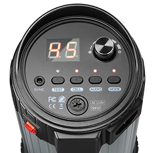 Neewer 600W Studio Strobe Flash Photography Lighting Kit:(2) 300W Monolight,(2) Softbox,(1) RT-16 Wireless Trigger,(2) 33 inches Translucent Umbrella for Video Portrait Location Shooting(N-300W)