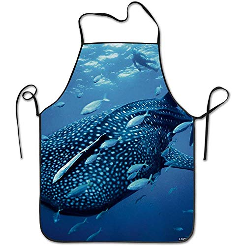 Myrdora Animal Whale Shark Deluxe Schürzen Personalized Printing Küchenschürze