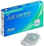 Alcon Air Optix for Astigmatism Torische Monatslinsen weich, 3 Stück / BC 8,7 mm / DIA 14,5 mm / CYL -0,75 / ACHSE 180 / -2,5 Dioptrien