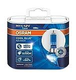 2x OSRAM COOL BLUE ADVANCE H11 12V 55W PGJ19-2 62211CBA-HCB