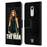 Official WWE Image 3 Becky Lynch The Man Leather Book