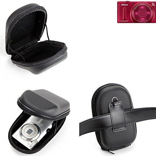 K-S-Trade para Nikon Coolpix S9600: Caso Duro, Estuche para cámara compacta, Bolsa/Funda...