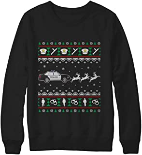 Best police christmas sweater Reviews