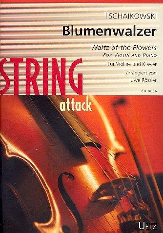 Blumenwalzer : für Violine und Klavier