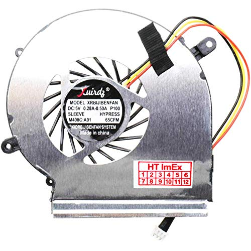 Ventilador para GPU/VGA, compatible con MSI GL62 6QD (MS-16J6), GE72 2QE (MS-1791), GE62 7RD (MS-16J9)