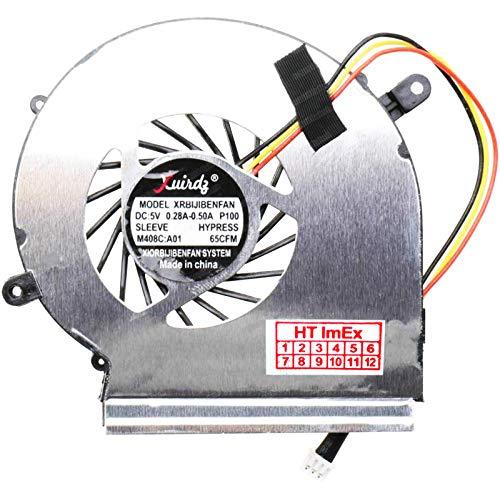 (Version 3 pins - für GPU/VGA) Lüfter/Kühler Fan kompatibel mit MSI GE62 6QF, GL72 7RDX (MS-1799), GE72 2QF (MS-1791)