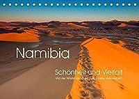 Namibia, Schoenheit und Vielfalt (Tischkalender 2022 DIN A5 quer): Namibia in abwechslungsreichen Ansichten (Monatskalender, 14 Seiten )