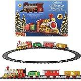 Netagon - Juego de tren de Navidad Santa Claus Express con vías para debajo del...