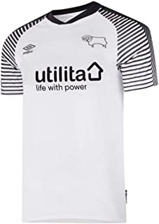 Umbro 2019-2020 Derby County Home Football Soccer T-Shirt Jersey
