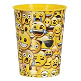 Plastikbecher - 473 ml - Smiley-Gesicht Emoji Party