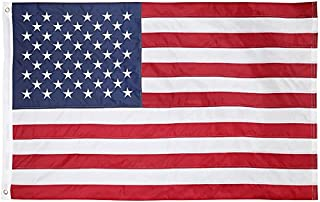 Cascade Point Flags Nylon American - USA Flag 2x3 Feet – Embroidered Oxford 210D Heavy Duty Nylon, Durable and Long Lasting – Embroidery - Sewn Panels (USA 2x3)