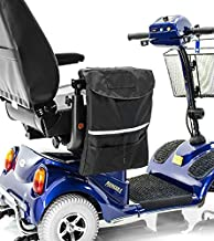 Challenger Large Deluxe Armrest Bag J250 for Mobility Scooters and Power Wheelchairs by Pride Mobility, Drive Medical, Merits, Shoprider, Golden Tech and Go-Go Travel Mobility