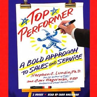 Top Performer audiobook cover art