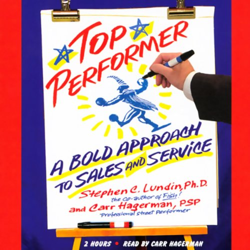Top Performer audiobook cover art