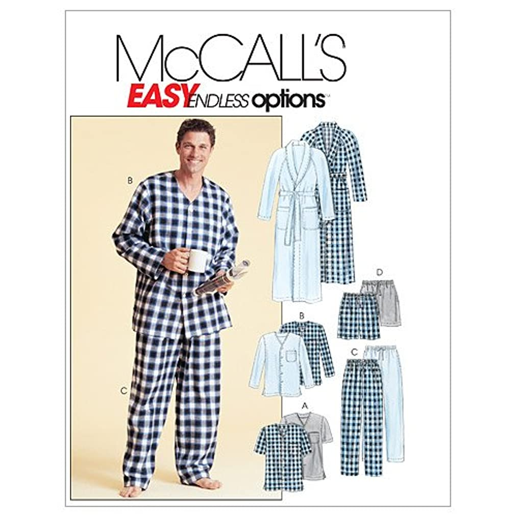 McCall's Patterns M4244 Men's Robe, Belt, Tops, Pants and Shorts, Size Y (SM-MED-LRG)