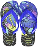 Havaianas Radical, Infradito Unisex-Bambini, Multicolore (Black/Blue Star 3768), 29/30 EU