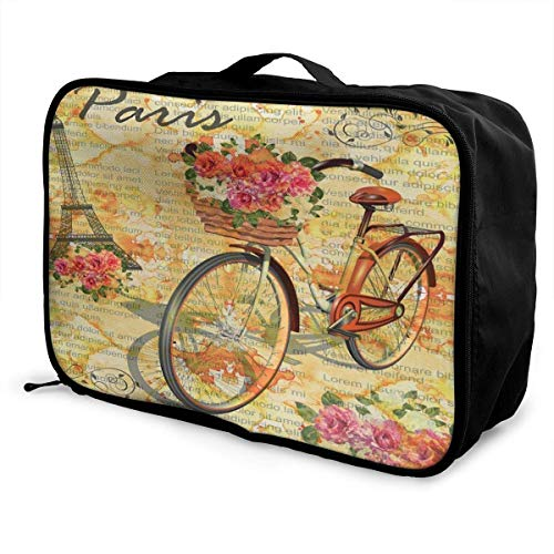 Bolsas de Maleta Vintage Newspapers Travel Storage Carry Luggage Duffle Portable Waterproof Travel Duffel Tote Bag Overnight Bag
