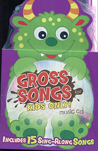 Gross Songs For Kids Only Die-Cut Book & CD by Twin Sisters Productions (2013) Hardcover