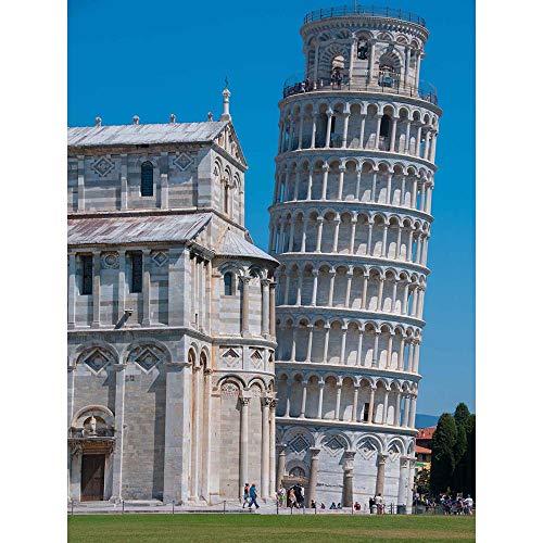 PHOTO LANDMARK LEANING TOWER PISA ITALY TORRE PENDENTE POSTER PRINT BMP11493