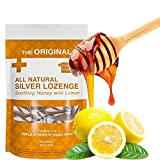 Original All Natural Silver Lozenges - Soothing Honey with Lemon: The Perfect Lozenge for Oral...