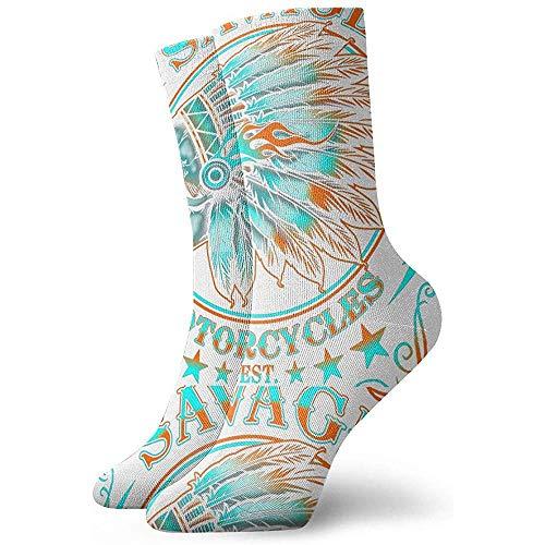 Gre Rry Femmes Skull- Crew Socks Moisture Control Thermal Socks
