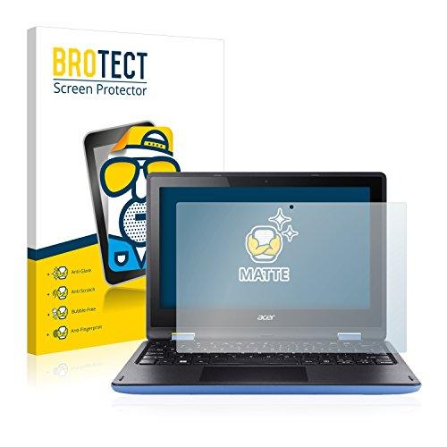 BROTECT Protector Pantalla Anti-Reflejos Compatible con Acer Aspire R11 R3-131T-P81Z (2 Unidades) Pelicula Mate Anti-Huellas