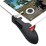 Chicken Dinner Game Controller for iPad, Tsocent Mobile Controller with Game Joystick, Upgraded Version Rotatable Triggers Sensitive Shoot Aim Tablet Gamepad for 4.5-12.9 inch Tablet