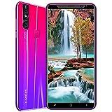 Smartphone, Teléfono Gratuito X27plus 4G + 64G Android 8.0, Teléfono FHD + De 5,8 Pulgadas, Cámara De 16MP, 4000mAh, Reconocimiento Facial Y Huella Digital