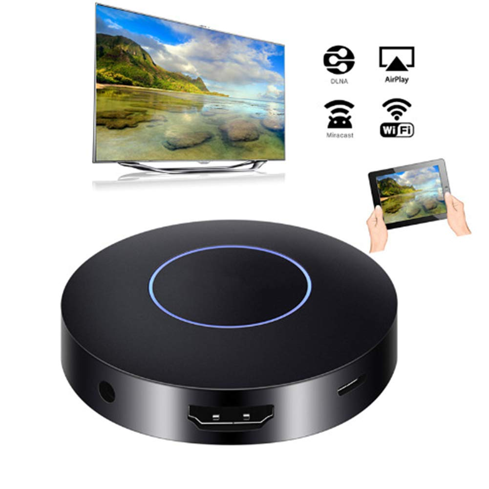 QHAI Mostrar Dongle, WiFi Stick de TV Dongle, inalámbrico Digital HDMI AV analógica RCA Video Streamer de visualización para el Coche Airplay Miracast Mirascreen: Amazon.es: Deportes y aire libre