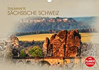 Traumhafte Saechsische Schweiz (Wandkalender 2022 DIN A3 quer): Einmalig schoene Bilder aus der Saechsischen Schweiz (Geburtstagskalender, 14 Seiten )